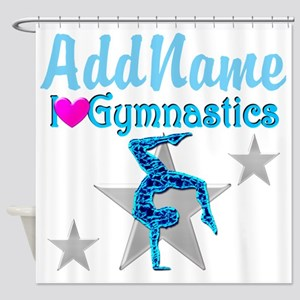 VIBRANT GYMNAST Shower Curtain