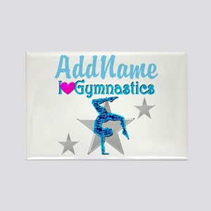 VIBRANT GYMNAST Rectangle Magnet