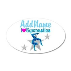 VIBRANT GYMNAST Wall Decal
