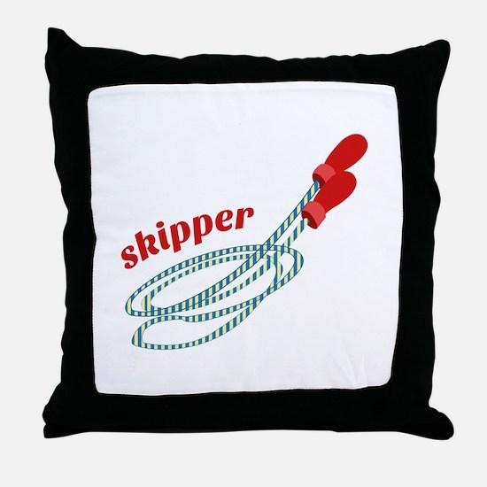 Skipper Throw Pillow