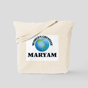 World's Greatest Maryam Tote Bag
