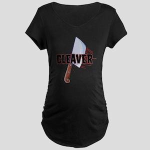 Cleaver The Movie Maternity Dark T-Shirt
