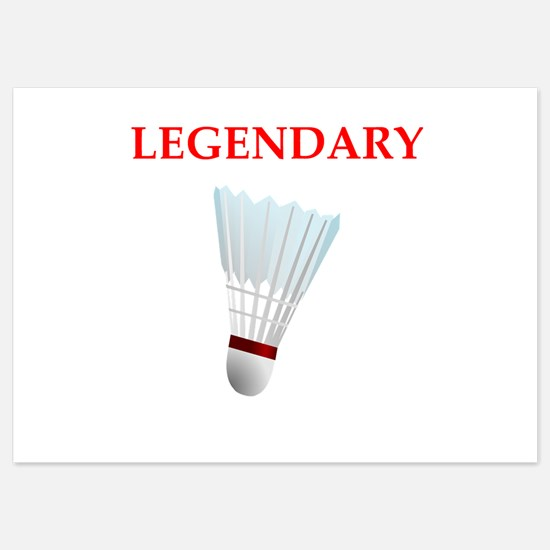 badminton Invitations