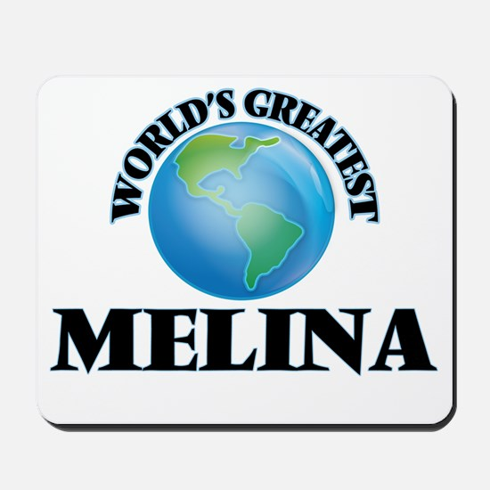World's Greatest Melina Mousepad