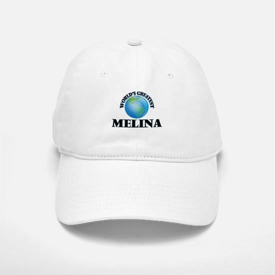 World's Greatest Melina Baseball Baseball Cap