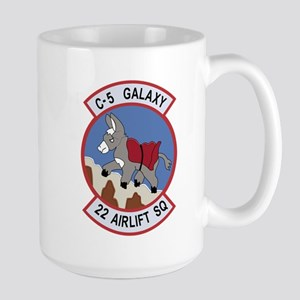 22nd Airlift Squadron Mugs