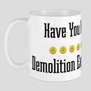 Hugged Demolition Expert Mug
