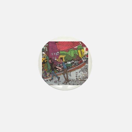 Jill's Street Mini Button
