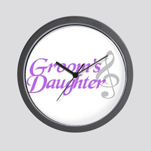 Groom's Daughter(clef) Wall Clock