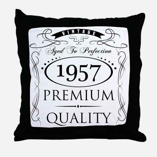 Funny Perfection Throw Pillow