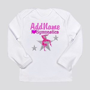 GYMNASTICS LOVE Long Sleeve Infant T-Shirt