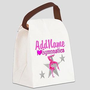 GYMNASTICS LOVE Canvas Lunch Bag