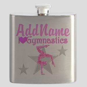 GYMNASTICS LOVE Flask