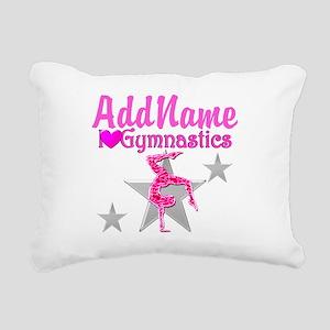 GYMNASTICS LOVE Rectangular Canvas Pillow