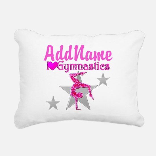 GYMNASTICS LOVE Rectangular Canvas Pillow