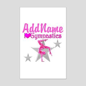 GYMNASTICS LOVE Mini Poster Print