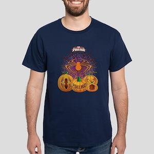 Spider-man Pumpkins Dark T-Shirt