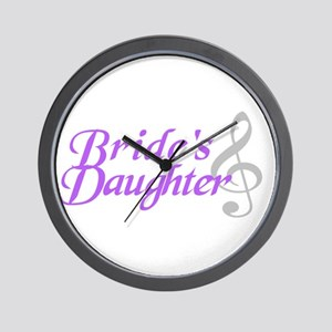 Bride's Daughter(clef) Wall Clock