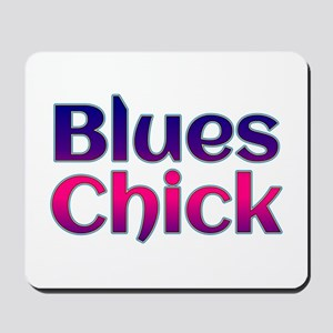 Blues Chick Mousepad