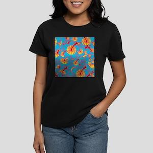 Light blue hibiscus T-Shirt