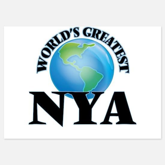 World's Greatest Nya Invitations