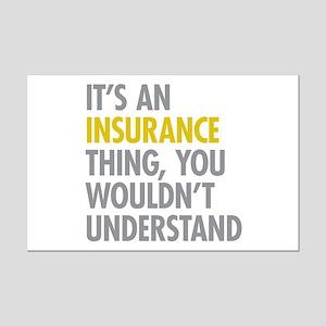 Its An Insurance Thing Mini Poster Print