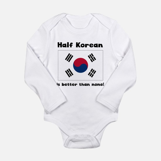 Half Korean Body Suit