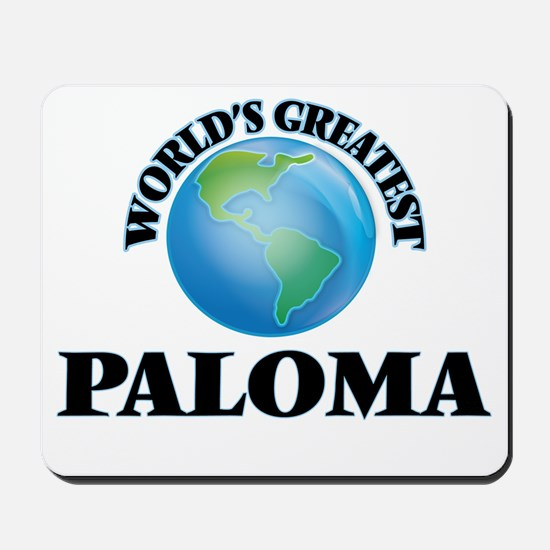 World's Greatest Paloma Mousepad