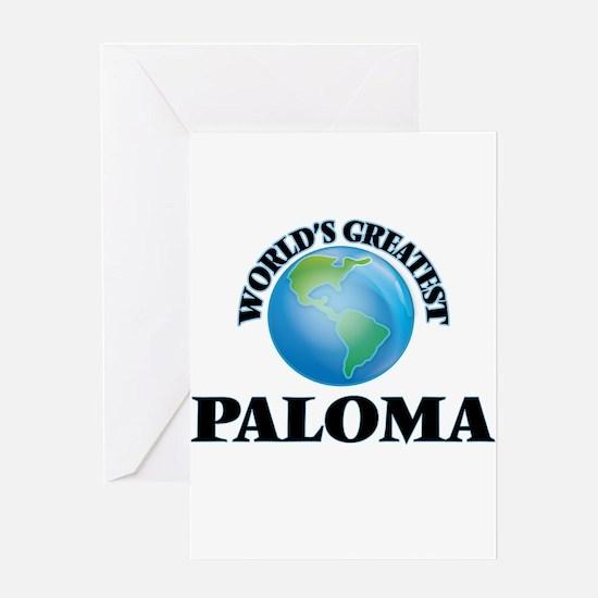 World's Greatest Paloma Greeting Cards