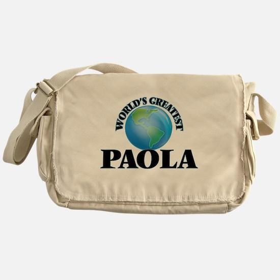 World's Greatest Paola Messenger Bag