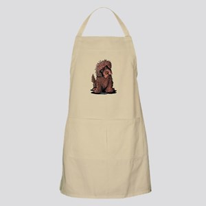 Brown Newfie Apron