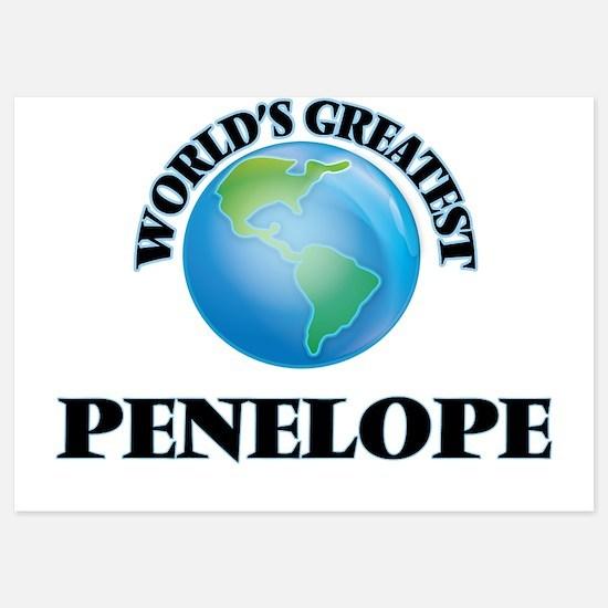 World's Greatest Penelope Invitations