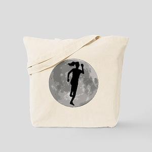 Runner Moon Tote Bag