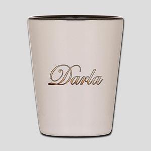 Gold Darla Shot Glass