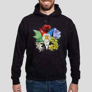 Eastern Star Floral Hoodie (dark)