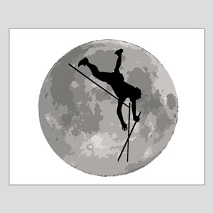 Pole Vaulter Moon Posters