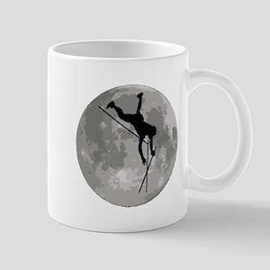 Pole Vaulter Moon Mugs
