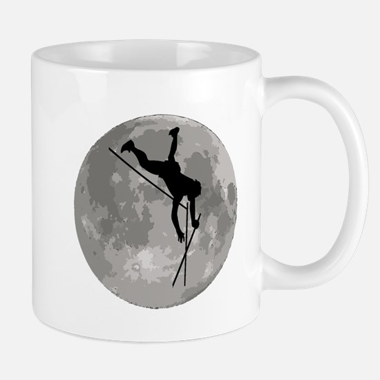 Pole Vaulter Moon Mugs