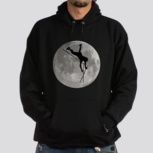 Pole Vaulter Moon Hoodie