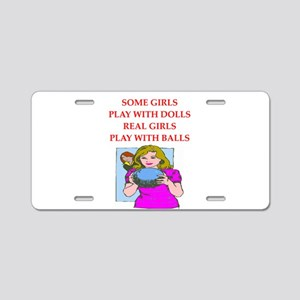bowler Aluminum License Plate