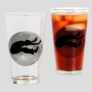 Long Jumper Moon Drinking Glass
