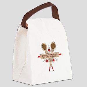 Kitchen Heat Canvas Lunch Bag