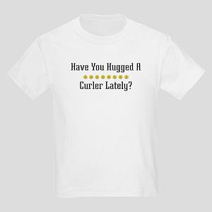 Hugged Curler Kids Light T-Shirt