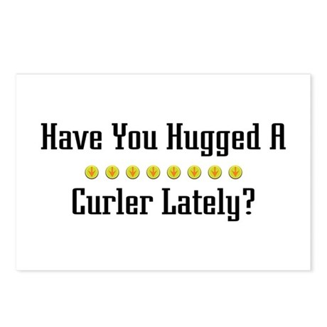 Hugged Curler Postcards (Package of 8)
