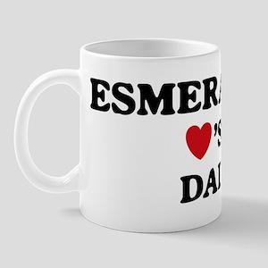 Esmeralda loves dad Mug