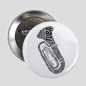"""Tuba 2.25"""" Button"""