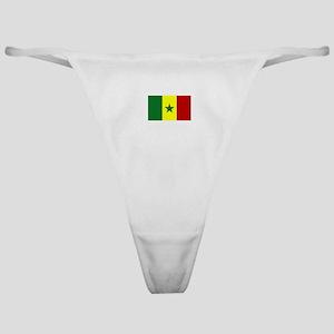 senegal flag Classic Thong