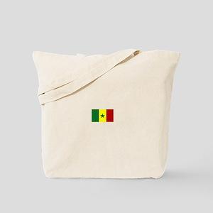 senegal flag Tote Bag