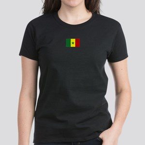 senegal flag Women's Dark T-Shirt