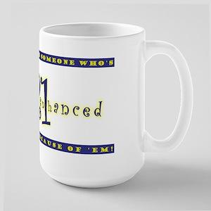 Gently Enhanced Large Mug